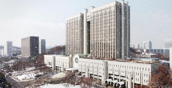 서울중앙지법의 전경
