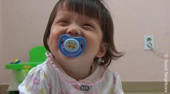 시력 잃어가는 2살 은희 굿네이버스, 같이가치