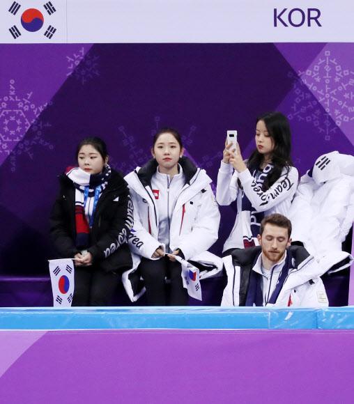 [올림픽] 경기 시작 기다리는 한국팀