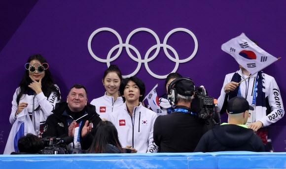 차준환, 단체전 쇼트 77.70점 '시즌 최고점'