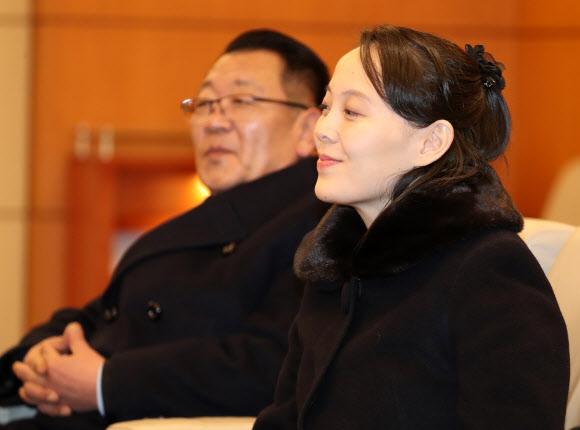 김여정과 최휘
