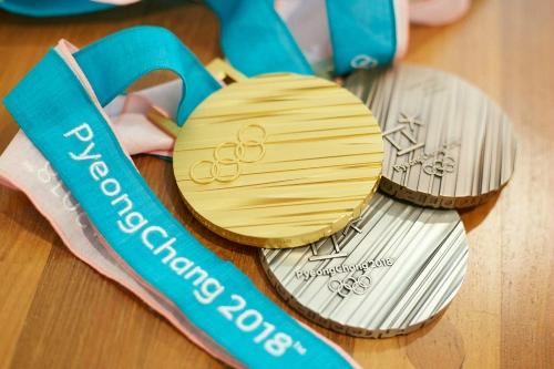평창동계올림픽 메달.
