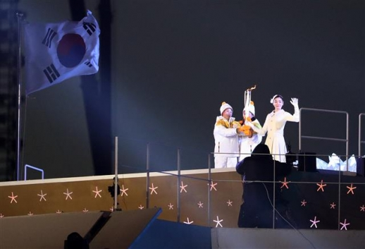 '단일팀이 김연아에게'