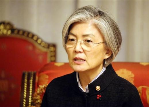 강경화 외교부 장관. 연합뉴스