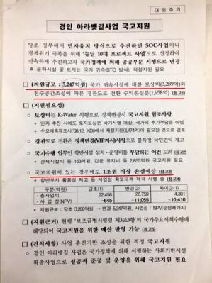무단 폐기하려다 적발된 수자원공사 보고서 국가기록원 제공=연합뉴스사진부공용