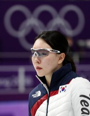 [올림픽] 노선영 '아쉬움 감출 수 없어'