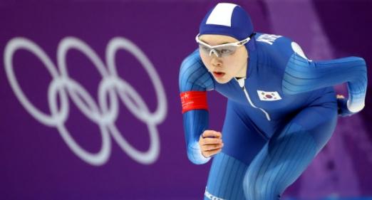 [올림픽] 노선영 '아쉽지만 잘했다'