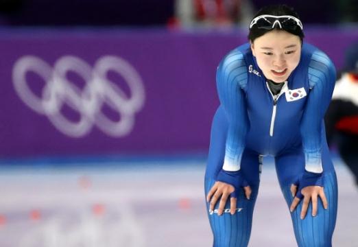 [올림픽] 노선영 '전력질주 후 되찾은 미소'