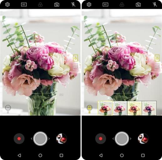 2018년형 'V30'은 카메라에 담은 제품을 바로 쇼핑할 수 있는 인공지능(AI) 기능이 담겼다. LG전자 제공