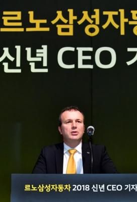 도미니크 시뇨라 르노삼성자동차 사장 연합뉴스