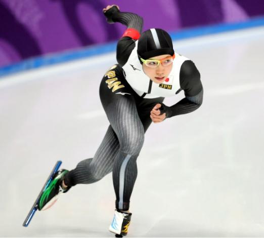 [올림픽] 고다이라 나오 14일 오후 강릉스피드스케이팅경기장에서 열린 2018평창동계올림픽 스피드스케이팅 여자 1000m 경기에 출전한 고다이라 나오가 레이스를 펼치고 있다. 2018.2.14