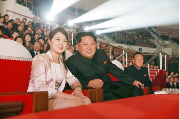 리설주-김정은. 연합뉴스