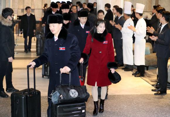 '북한으로 돌아갑니다'