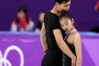 """[올림픽] 북한 피겨 렴대옥-김주식 """"남측 인민들에게…"""