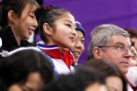 [포토] 남북 선수들과 함께한 바흐 IOC위원장