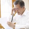 [서울포토] 설 명절 맞아 문재인 대통령이 전화한 11명은 누구?