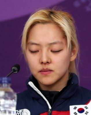 [올림픽] 굳은 표정의 김보름 선수