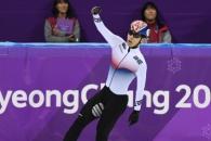 [서울포토] 은메달 획득한 황대헌 선수