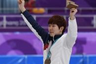 [서울포토] 동메달 목에 걸고 기뻐하는 김태윤