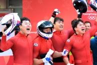 '세계랭킹 50위' 봅슬레이 4인승, 공동 은메달…역대…