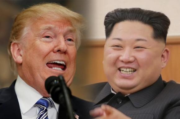 도널드 트럼프 미국 대통령과 김정은 북한 노동당 위원장  AFP 연합뉴스 / 조선중앙통신