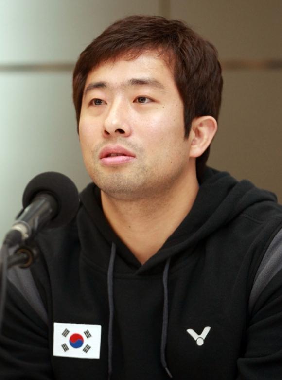 정재성 전 배드민턴 국가대표  연합뉴스