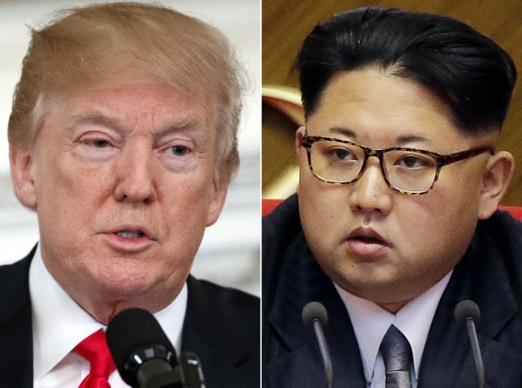 도널드 트럼프(왼쪽) 미국 대통령과 김정은 북한 노동당 위원장.연합뉴스