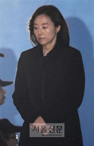 조윤선 전 청와대 정무수석