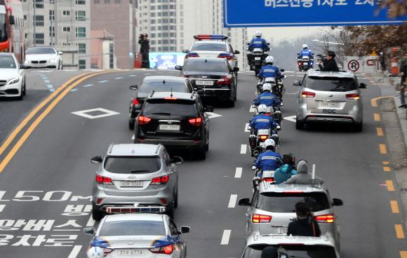 [MB소환]이명박 전 대통령, 검찰 가는 길