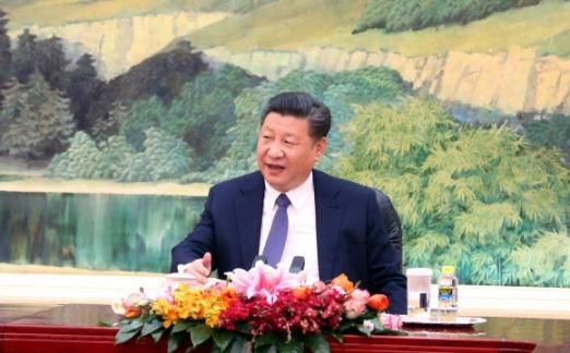 인사말 하는 시진핑 주석