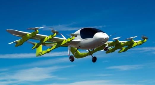 미국 스타트업 키티호크가 개발한 하늘을 나는 택시 코라.  키티호크 홈페이지 캡처