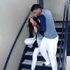 美 야구 선수의 데이트 폭력 순간