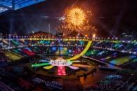 [서울포토] 평창패럴림픽 폐막식을 알리는 불꽃