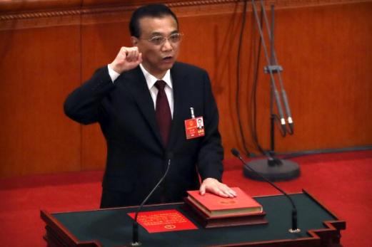 리커창 중국 국무원 총리 AP 연합뉴스