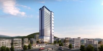 호텔 '케니스토리 여수점' 투시도. 일성건설 제공.