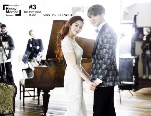 함소원♥진화 웨딩화보 공개
