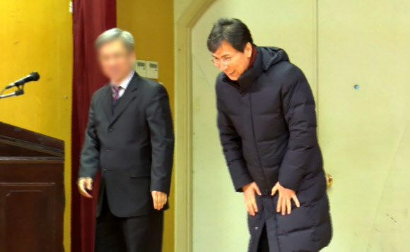 안희청 초청 강연 연 드루킹