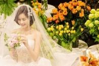 '4월의 신부' 박은지, 결혼식 사진 공개