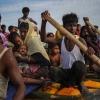 로힝야 난민 76명 태운 쪽배 좌초… 인니 도착
