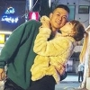 '상병' 빈지노, 군 휴가 중 연인 미초바와 데이트 '4년째 연애중~♥'