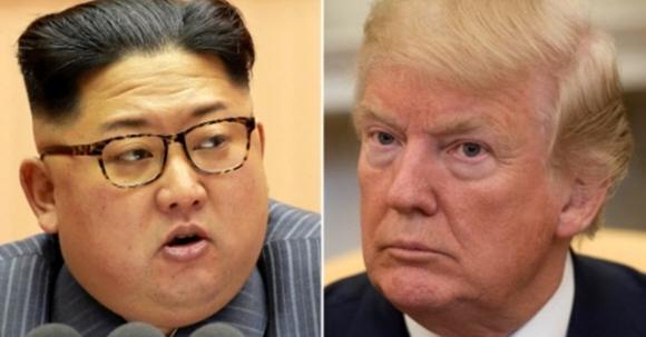 도널드 트럼프(오른쪽) 대통령·김정은 북한 노동당 위원장. AFP 연합뉴스