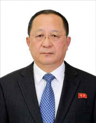 리용호 북한 외무상