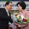민주당 국회의장 후보 '6선 친문' 문희상 선출
