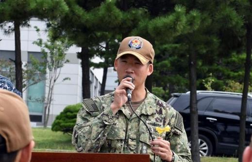 행크 김 주한미해군사 참모장