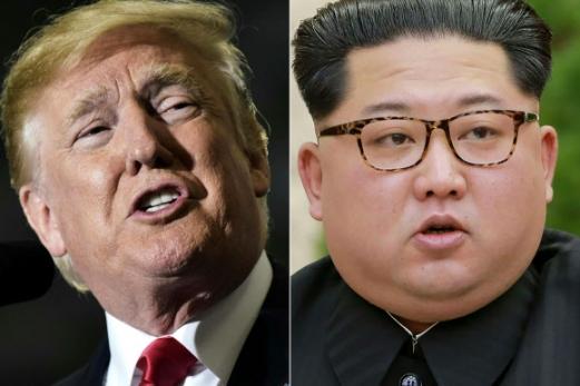 도널드 트럼프(왼쪽) 미국 대통령과 김정은 북한 국무위원장.  AFP 연합뉴스