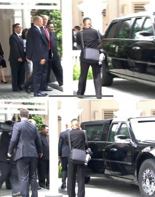 [북미정상회담] 트럼프, 김정은에 '캐딜락 원' 자랑?