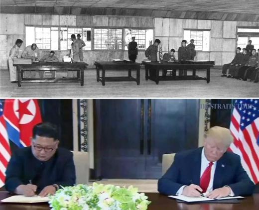 [북미정상회담] 65년이 걸린 북미 공동합의문 서명
