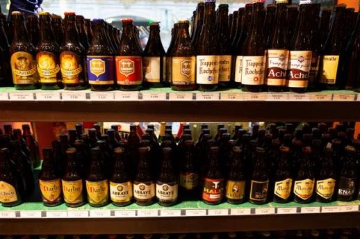 벨기에의 트라피스트 맥주들.