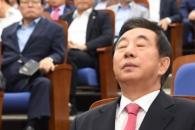 계파갈등·'김성태 사퇴' 격론… 5시간 싸우다 끝난…