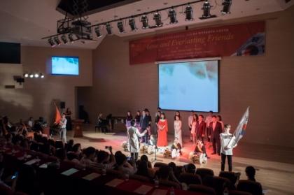 백석예술대학교는 지난달 26일 중국 텐진시에 위치한 텐진외국어대학교에서 '2018 한국 백석예술대학교 초청공연'을 성황리에 개최했다고 밝혔다.